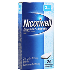 Nicotinell 2mg Cool Mint 24 Stück