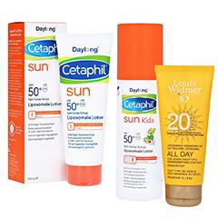 Liposomaler Sonnenschutz Themenshop