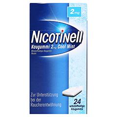 Nicotinell 2mg Cool Mint 24 Stück - Vorderseite