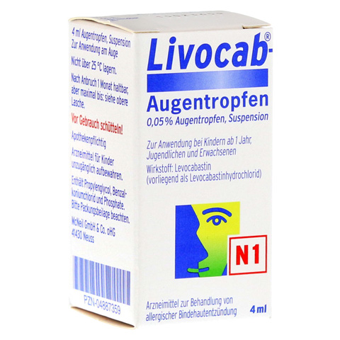 Livocab 4 Milliliter N1