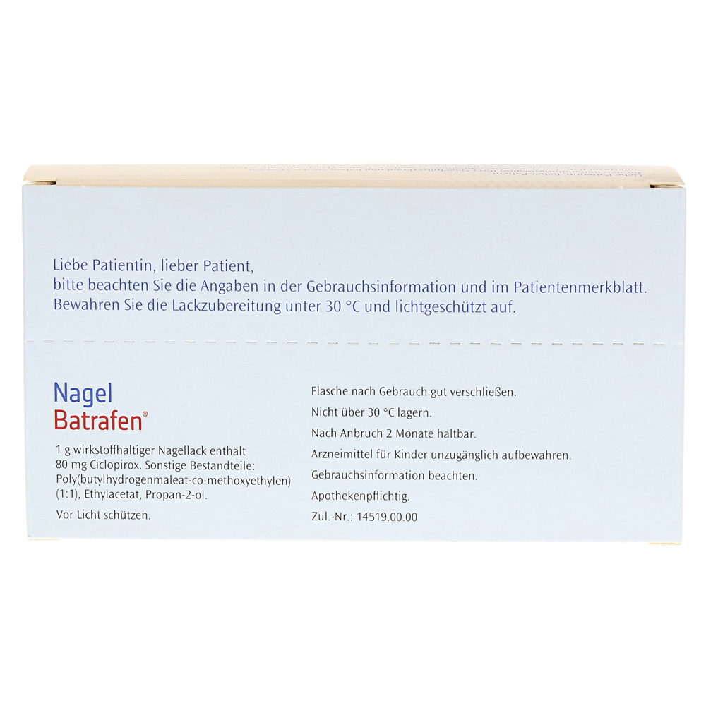 Nagel Batrafen Start Set 1.5 Gramm Online Bestellen - Medpex Versandapotheke