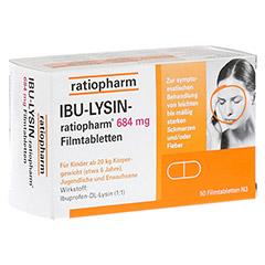 IBU-LYSIN-ratiopharm 684mg 50 Stück N3