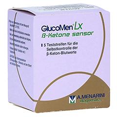 GLUCOMEN LX Plus Ketone Sensor Teststreifen 5 Stück