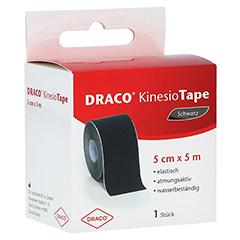 DRACO KINESIOTAPE 5 cmx5 m schwarz 1 Stück