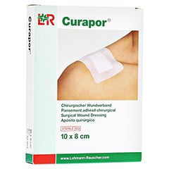 CURAPOR Wundverband steril chirurgisch 8x10 cm 5 Stück