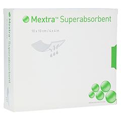 MEXTRA Superabsorbent Verband 10x10 cm 10 Stück