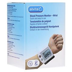 ALVITA Blutdruckmessgerät Handgelenk 1 Stück