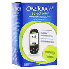 ONE TOUCH Select Plus Blutzuckermesssystem mmol/l 1 Stück