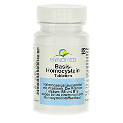 BASIS HOMOCYSTEIN Tabletten 30 Stück