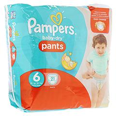 PAMPERS Baby Dry Pants Gr.6 extra large 16+kg Spar 21 Stück
