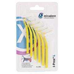 MIRADENT Interdentalbürste I-Prox L 0,5 mm gelb 6 Stück