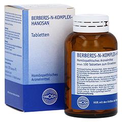 BERBERIS N-KOMPLEX-HANOSAN Tabletten 100 Stück N1