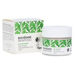 BIO VEGANE Sensitive green Tea 24 h Pflege Creme 50 Milliliter