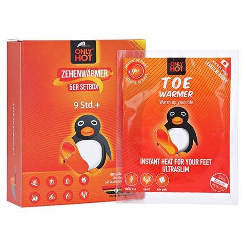 ONLY Hot Warmers Zehenwärmer Setbox 5x2 Stück
