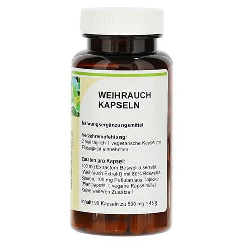 WEIHRAUCH EXTRAKT 400 mg Kapseln 90 Stück