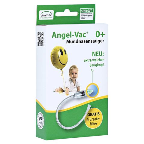 ANGEL VAC Mundnasensauger m.Reinigungsbürste 1 Stück