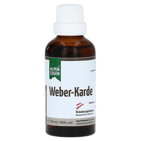 WEBER-Karde Kräuteressenz flüssig 50 Milliliter