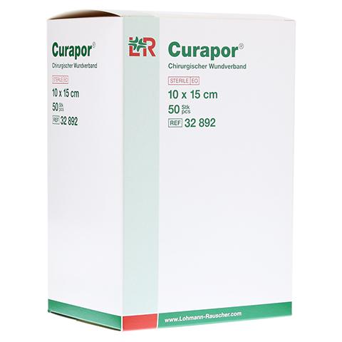 CURAPOR Wundverband steril chirurgisch 10x15 cm 50 Stück