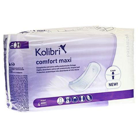 KOLIBRI comfort premium Einlagen anatomisch maxi 28 Stück