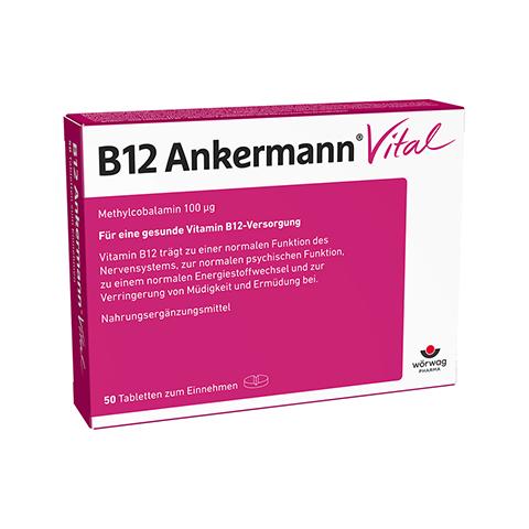 B12 ANKERMANN Vital Tabletten 50 Stück
