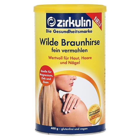 ZIRKULIN Wilde Braunhirse Pulver 400 Gramm