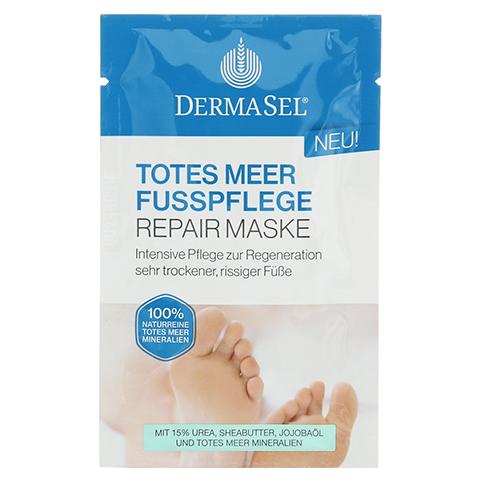 DERMASEL Fußpflege Maske 12 Milliliter
