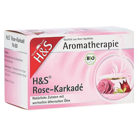 H&S Bio Rose-Karkade Aromatherapie Filterbeutel 20 Stück