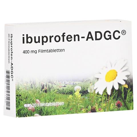 Ibuprofen-ADGC 400mg 20 Stück