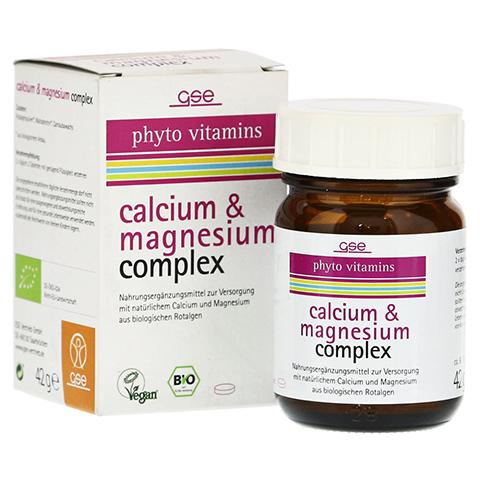 CALCIUM & MAGNESIUM complex Bio Tabletten 60 Stück