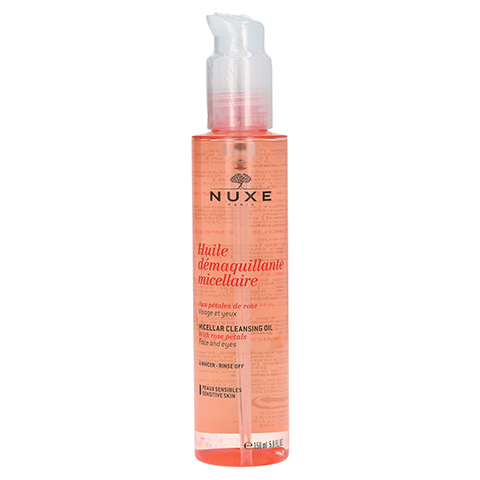 NUXE Mizellen-Reinigungsöl mit Rosenblüten 150 Milliliter