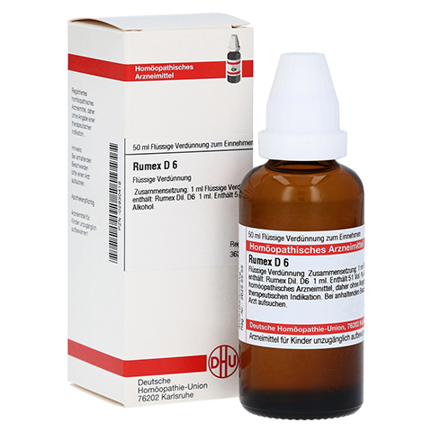 RUMEX D 6 Dilution 50 Milliliter N1