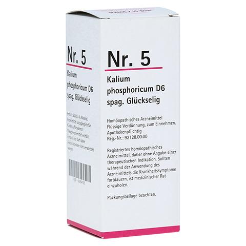 NR.5 Kalium phosporicum D 6 spag.Glückselig 100 Milliliter N2