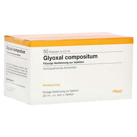 GLYOXAL compositum Ampullen 50 Stück N2