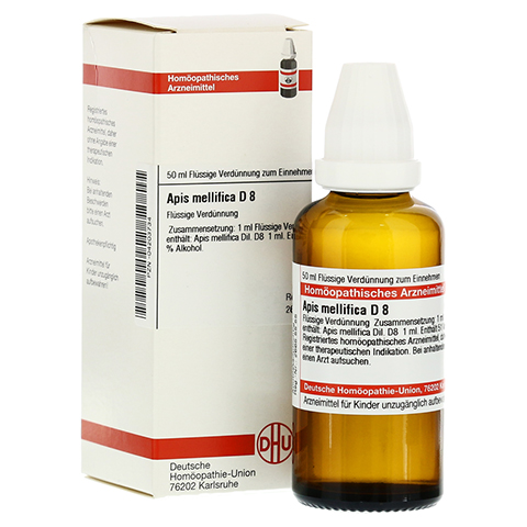 APIS MELLIFICA D 8 Dilution 50 Milliliter N1