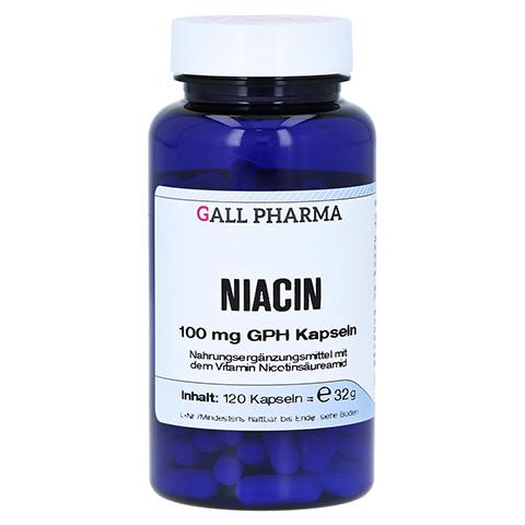 NIACIN 100 mg GPH Kapseln 120 Stück
