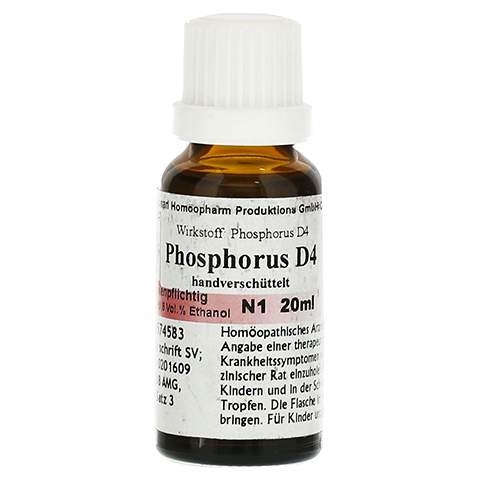 PHOSPHORUS D 4 Dilution 20 Milliliter N1