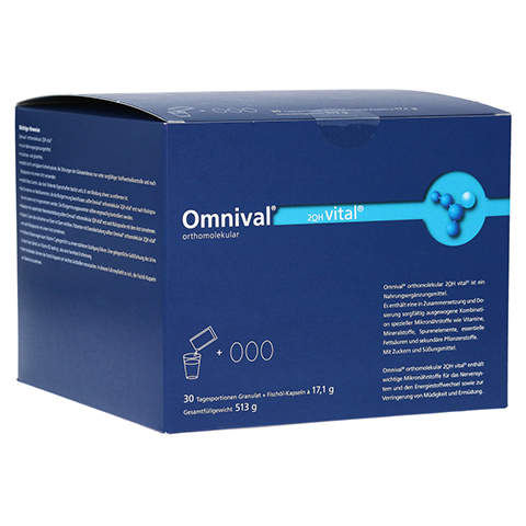 OMNIVAL orthomolekul.2OH vital 30 TP Gran.+Kaps. 1 Packung