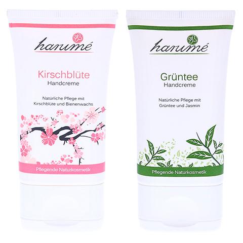 harumé Handcreme Kirschblüte + Grüntee 2 Stück