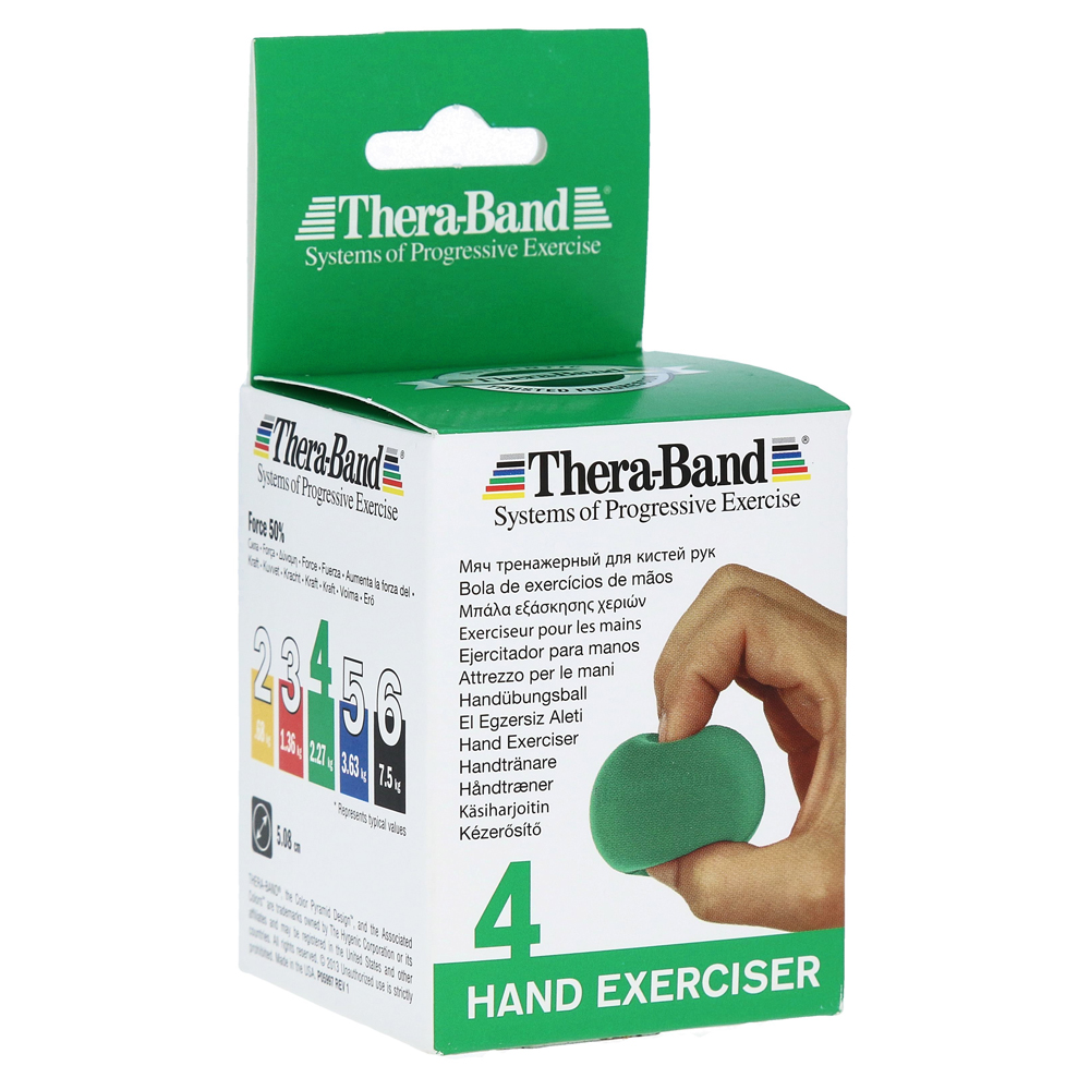 Ludwig Artzt GmbH THERA BAND Handtrainer mittel grün 1 Stück