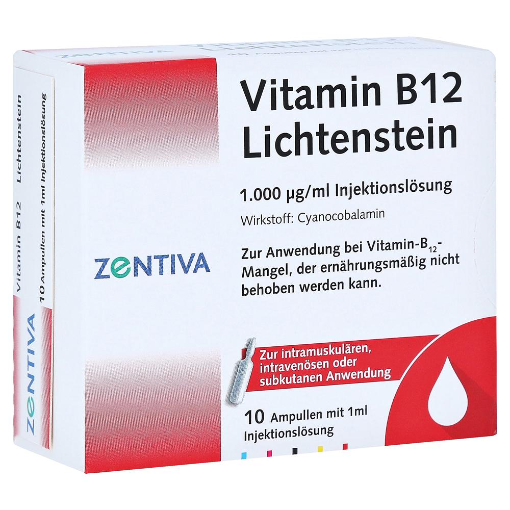 vitamin b12 g lichtenstein ampullen 10x1 milliliter. Black Bedroom Furniture Sets. Home Design Ideas