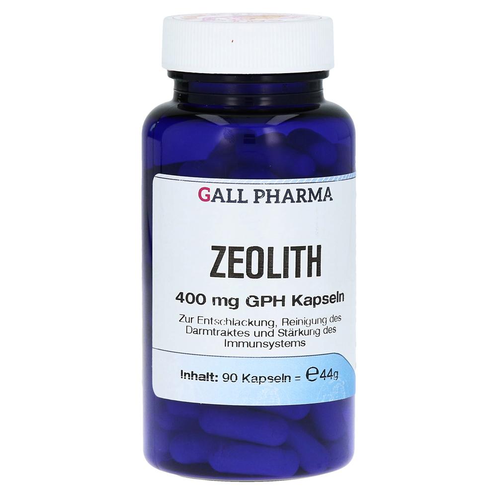 zeolith 400 mg gph kapseln 90 st ck online bestellen medpex versandapotheke. Black Bedroom Furniture Sets. Home Design Ideas
