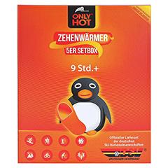 ONLY Hot Warmers Zehenwärmer Setbox 5x2 Stück - Vorderseite