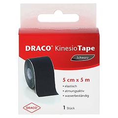 DRACO KINESIOTAPE 5 cmx5 m schwarz 1 Stück - Vorderseite