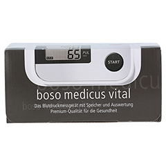 BOSO medicus vital Oberarm Blutdruckmessgerät 1 Stück - Vorderseite
