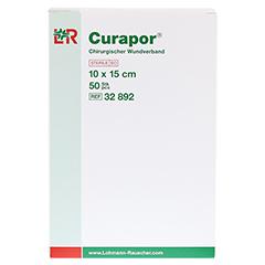CURAPOR Wundverband steril chirurgisch 10x15 cm 50 Stück - Vorderseite