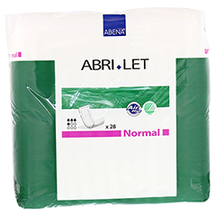 ABRI Let normal Vorlage 14x39 cm 28 Stück - Vorderseite