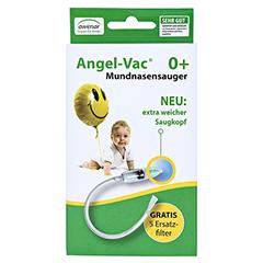 ANGEL VAC Mundnasensauger m.Reinigungsbürste 1 Stück - Vorderseite