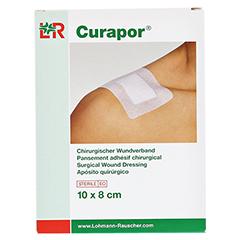 CURAPOR Wundverband steril chirurgisch 8x10 cm 5 Stück - Vorderseite