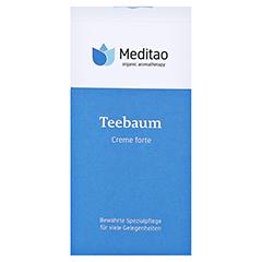 MEDITAO Teebaumcreme forte 50 Milliliter - Vorderseite