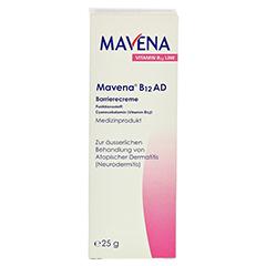 MAVENA B12 AD Barrierecreme 25 Gramm - Vorderseite